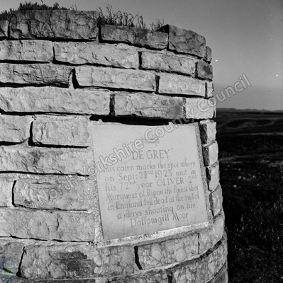 Monument, Dallowgill Moor